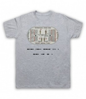 Stranger Things Morse Code Close Gate T-Shirt