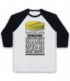 Brass Eye Cake Also Known As Made Up Drug Names Baseball Tee