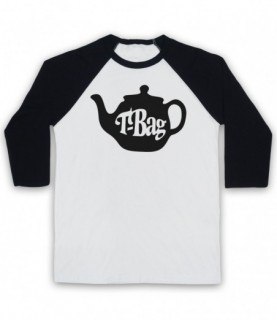 T-Bag 80's Kids TV Show Logo Baseball Tee