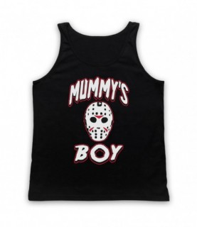 Friday The 13th Jason Mummy's Boy Tank Top Vest