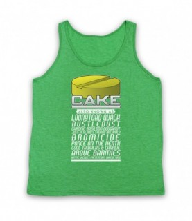 Brass Eye Cake Also Known As Made Up Drug Names Tank Top Vest