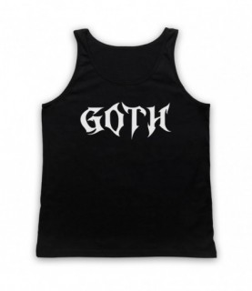 Goth Metal Music Lover Tank Top Vest