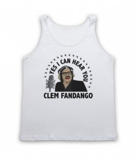 Toast Of London Yes I Can Hear You Clem Fandango Tank Top Vest