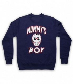 Friday The 13th Jason Mummy's Boy Hoodie Sweatshirt Hoodies & Sweatshirts