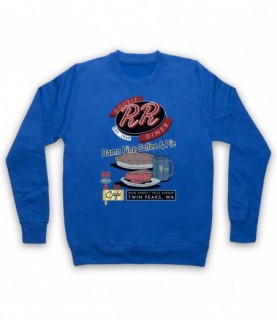 Twin Peaks Double R Diner Damn Fine Coffee & Pie Hoodie Sweatshirt Hoodies & Sweatshirts