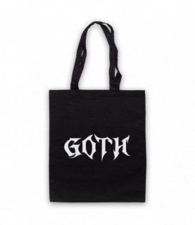 Goth Metal Music Lover Tote Bag