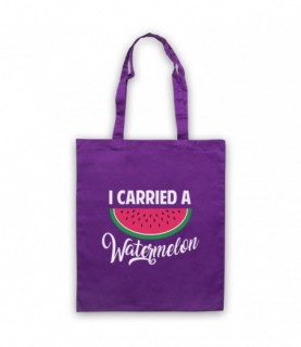 Dirty Dancing I Carried A Watermelon Tote Bag