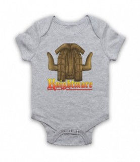Knightmare Kids TV Logo Baby Grow Bib