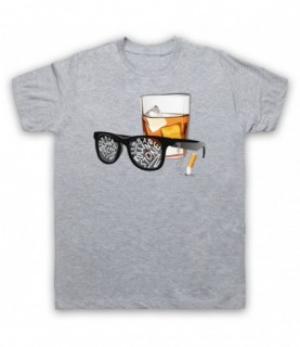Bob Dylan Like A Rolling Stone Sunglasses & Whiskey T-Shirt