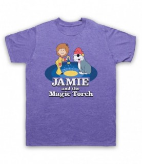 Jamie And The Magic Torch Retro Kids TV Show T-Shirt