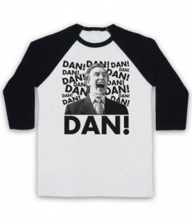 Alan Partridge Dan! Baseball Tee
