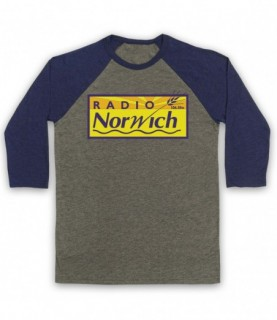 Alan Partridge Radio Norwich 106.5fm Baseball Tee