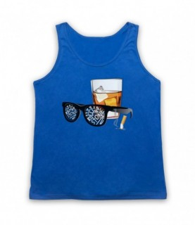 Bob Dylan Like A Rolling Stone Sunglasses & Whiskey Tank Top Vest
