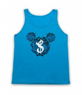 Space Mickey Mouse Money Tank Top Vest