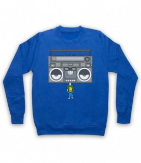 Boombox Head Music Lover Hoodie Sweatshirt Hoodies & Sweatshirts
