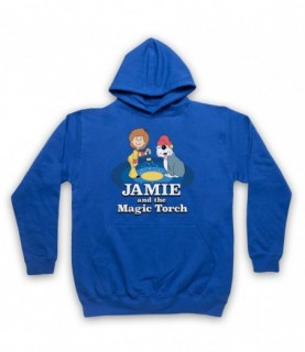 Jamie And The Magic Torch Retro Kids TV Show Hoodie Sweatshirt Hoodies & Sweatshirts