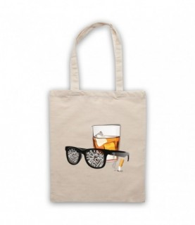 Bob Dylan Like A Rolling Stone Sunglasses & Whiskey Tote Bag
