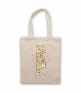 Explore Love Of Travel Tote Bag