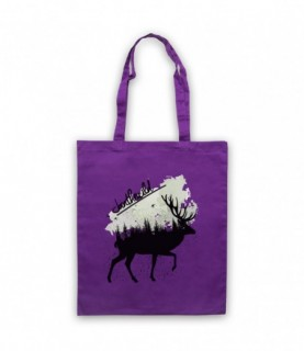 Join The Wild Deer Tote Bag