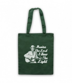 Hank Williams I Saw The Light Praise The Lord Tote Bag