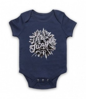 Concrete Jungle The Urban Jungle Baby Grow Bib