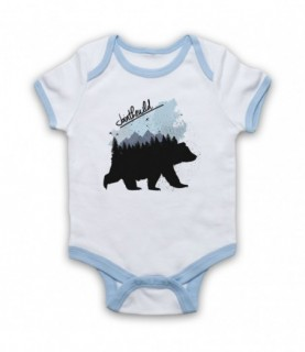 Join The Wild Bear Baby Grow Bib
