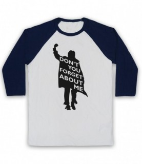 Breakfast Club Don't You Forget About Me Baseball Tee