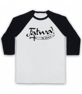 Curb Your Enthusiasm Fatwa The Musical Baseball Tee