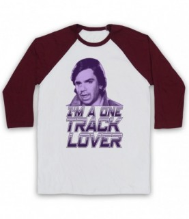 Garth Marenghi's Darkplace One Track Lover Todd Rivers Baseball Tee