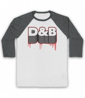 D&B Drum And Bass Baseball Tee