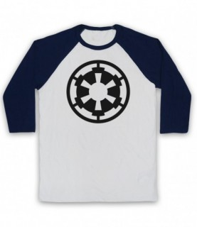 Star Wars Galactic Empire Logo Baseball Tee