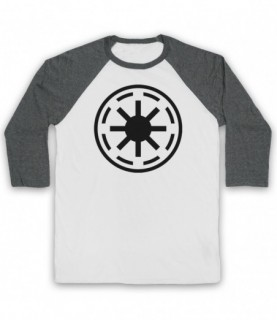 Star Wars Galactic Republic Logo Baseball Tee