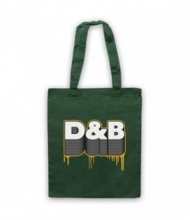 D&B Drum And Bass Tote Bag