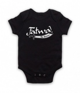Curb Your Enthusiasm Fatwa The Musical Baby Grow Bib