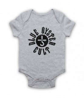 Blue Oyster Cult Logo Baby Grow Bib