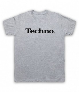 Techno Music Parody Logo T-Shirt