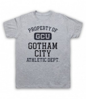 Justice League Cyborg GCU Gotham City Athletic Dept T-Shirt
