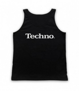 Techno Music Parody Logo Tank Top Vest