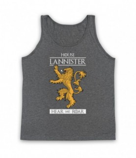 Game Of Thrones House Lannister Tank Top Vest