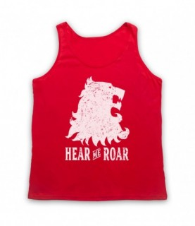 Game Of Thrones Lannister Lion Head Sigil Hear Me Roar Tank Top Vest