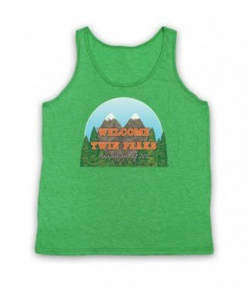 Twin Peaks Welcome To Twin Peaks Sign Tank Top Vest