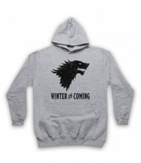 Game Of Thrones Stark Wolf Head Sigil Winter Is Coming Hoodie Sweatshirt Hoodies & Sweatshirts