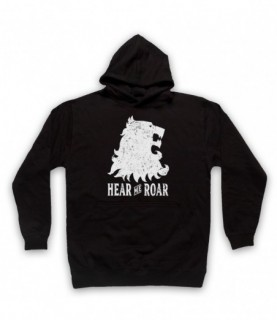 Game Of Thrones Lannister Lion Head Sigil Hear Me Roar Hoodie Sweatshirt Hoodies & Sweatshirts