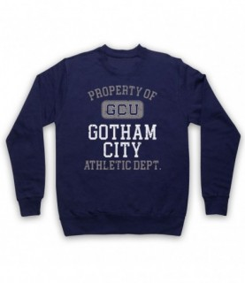 Justice League Cyborg GCU Gotham City Athletic Dept Hoodie Sweatshirt Hoodies & Sweatshirts