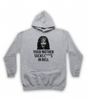 Exorcist Your Mother Sucks C***S In Hell Hoodie Sweatshirt Hoodies & Sweatshirts