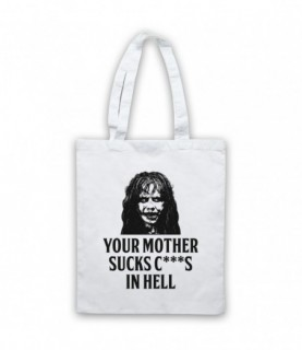 Exorcist Your Mother Sucks C***S In Hell Tote Bag