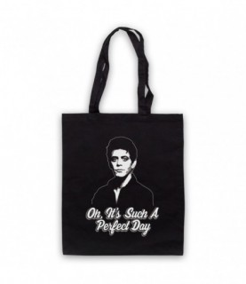 Lou Reed Perfect Day Tote Bag