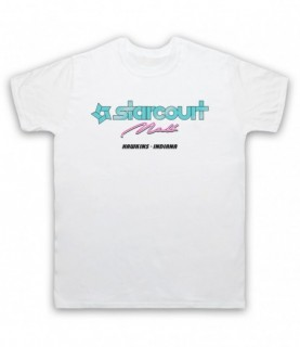 Stranger Things Starcourt Mall Full Colour Logo T-Shirt