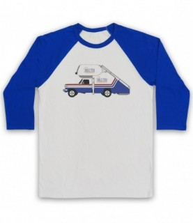 Arrested Development Bluth Company Stair Car Baseball Tee
