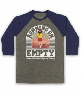 Forrest Gump Jackson Browne Running On Empty Baseball Tee